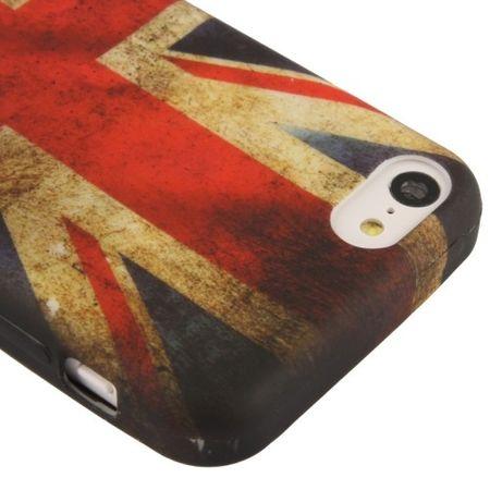 Schutzhülle TPU Case für Handy Apple iPhone 5C England