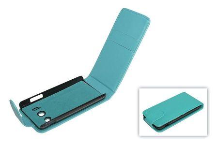 Handyhülle Tasche (Flip) für Huawei Ascend Y300 blau