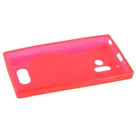 Handyhülle S Line TPU Tasche für Nokia Lumia 928 rosa – Bild 3