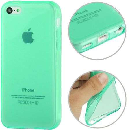 Handyhülle TPU Case für Handy Apple iPhone 5C grün