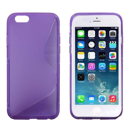 Handyhülle TPU Case für Handy Apple iPhone 6 (4,7 Zoll) lila / violett