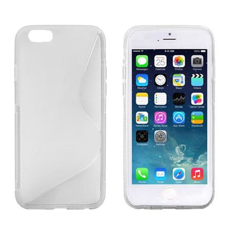 Handyhülle TPU Case für Handy Apple iPhone 6 (4,7 Zoll) transparent