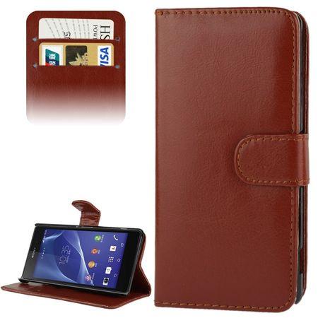 Schutzhülle Handytasche (Flip Quer) für Handy Sony Xperia Z2 / L50w