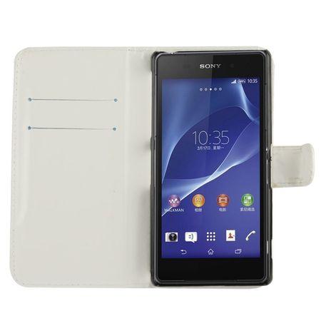 Schutzhülle Handytasche (Flip Quer) für Handy Sony Xperia Z2 / L50w – Bild 2