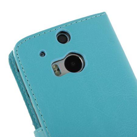 Schutzhülle Handytasche (Flip Quer) für Handy HTC One M8 / M8s  – Bild 4