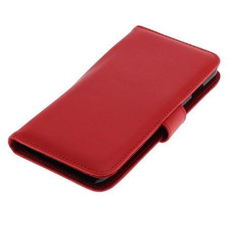 OTB Tasche (Kunstleder) für Apple iPhone 6 Bookstyle rot