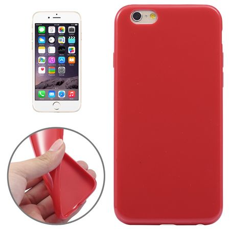 Apple iPhone 6 Plus Handy Hülle TPU Rot