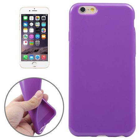 Apple iPhone 6 Plus Handy Hülle TPU Lila / Violett