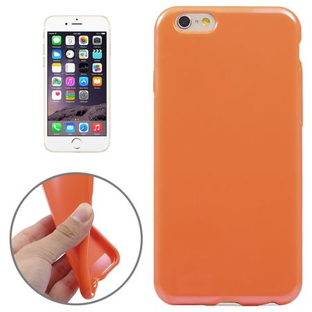 Apple iPhone 6 Handy Hülle TPU Orange