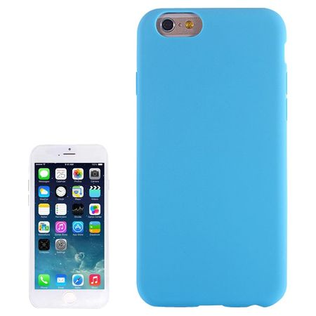 Apple iPhone 6 Plus Handy Hülle Silikon Hellblau