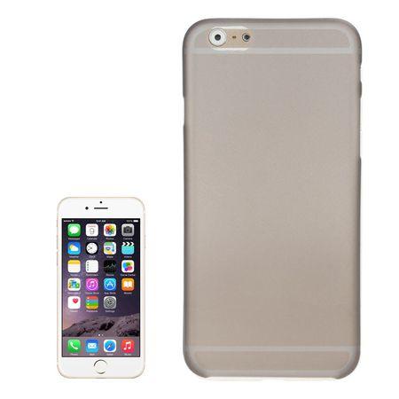 Schutzhülle Case Ultra Dünn 0,3mm für Handy Apple iPhone 6 Plus Schwarz Transparent
