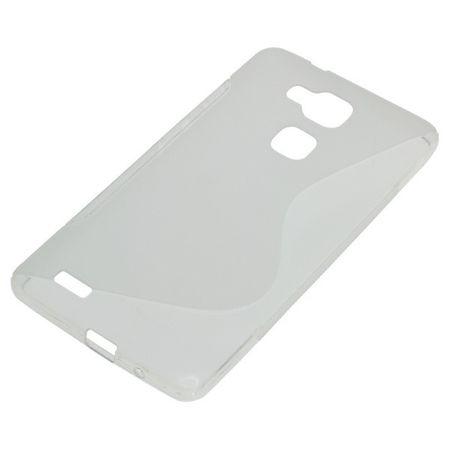 OTB TPU Case kompatibel zu Huawei Ascend Mate 7 S-Curve transparent