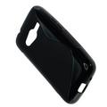 OTB TPU Case kompatibel zu Samsung Galaxy Ace 4 G313H S-Curve schwarz 001