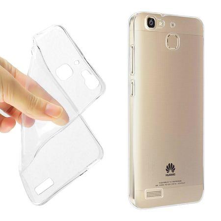 Ultra Dünn Schutzhülle Handytasche Etuis TPU für Handy Huawei GR3 Transparent Klar – Bild 2