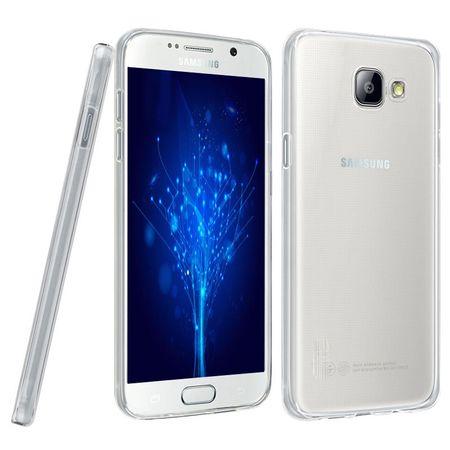 Ultra Dünn Schutzhülle Handytasche Etuis TPU für Handy Samsung Galaxy J5 2016 Transparent Klar