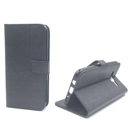 Handyhülle Tasche für Handy Samsung Galaxy J5 Schwarz