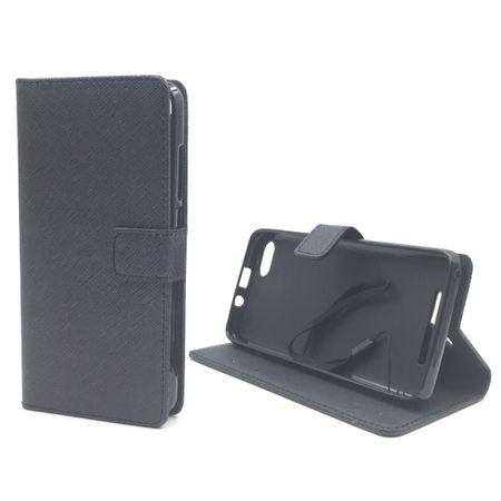 Handyhülle Tasche für Handy Wiko Lenny 3 Schwarz – Bild 2