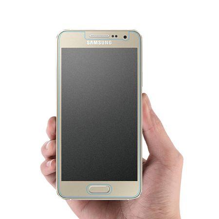 Panzer Glas für Samsung Galaxy A3 Echt Schutz Folie Handy Matt