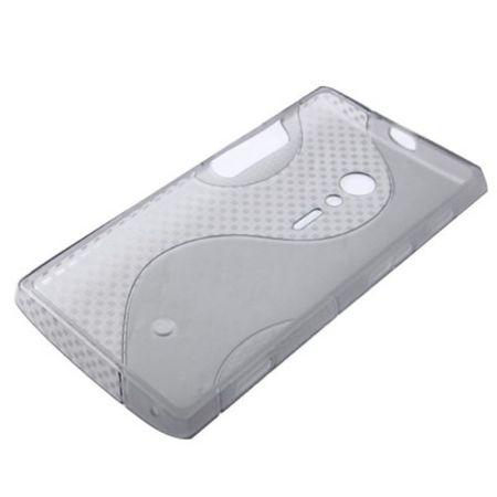 Schutzhülle TPU Case für Handy Sony Xperia Ion LT28i grau – Bild 3