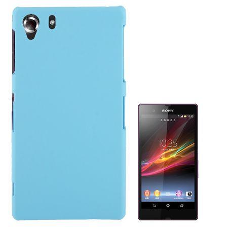 Schutzhülle Kunststoff-Gehäuse für Sony Xperia Z1 hellblau – Bild 1