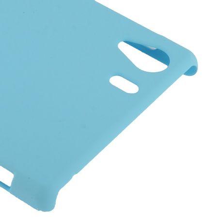 Schutzhülle Kunststoff-Gehäuse für Sony Xperia Z1 hellblau – Bild 3