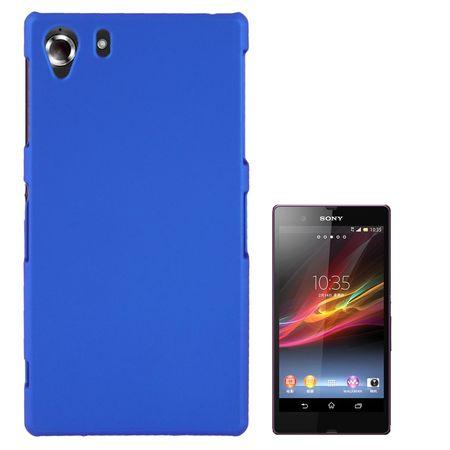Schutzhülle Kunststoff-Gehäuse für Sony Xperia Z1 blau – Bild 1