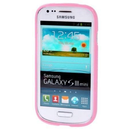 Schutzhülle für Handy Samsung Galaxy S3 mini i8190 / i8195 / i8200 rosa – Bild 4