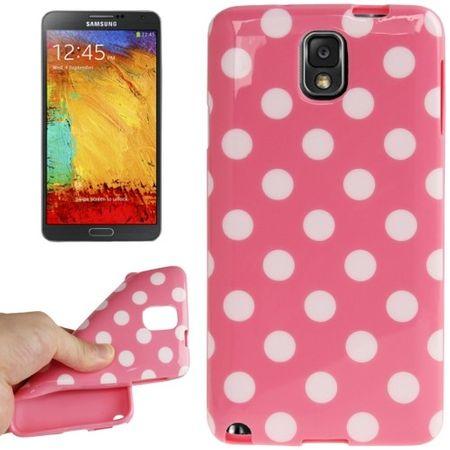 Schutzhülle für Handy Samsung Galaxy Note 3 N9000 rosa