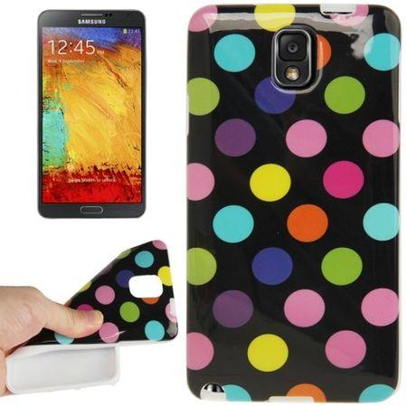Schutzhülle für Handy Samsung Galaxy Note 3 N9000 schwarz/bunt