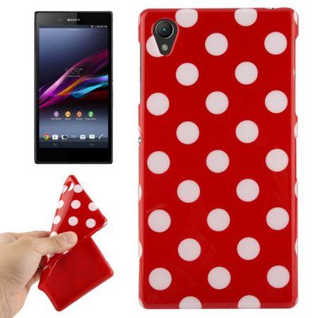 Schutzhülle für Handy Sony Xperia Z1 rot