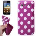 Schutzhülle für Handy Samsung Galaxy S Advance i9070 lila 001