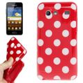 Schutzhülle für Handy Samsung Galaxy S Advance i9070 rot 001