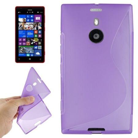 Handyhülle TPU-Schutzhülle für Nokia Lumia 1520 lila