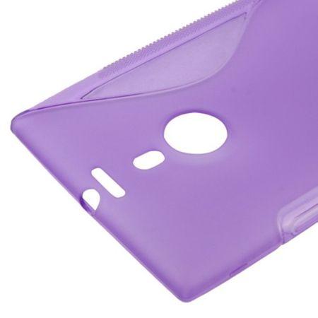 Handyhülle TPU-Schutzhülle für Nokia Lumia 1520 lila – Bild 3