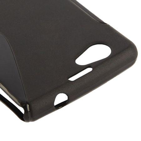 Handyhülle TPU Case für Sony Xperia Z1S / Z1 mini schwarz – Bild 3