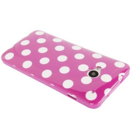 Schutzhülle TPU Case für Handy HTC One M7 Lila / Violett – Bild 2