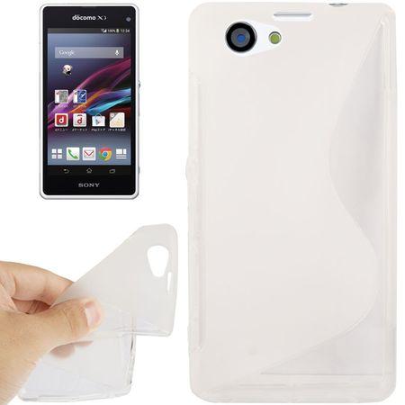 Handyhülle TPU Case für Sony Xperia Z1S / Z1 mini transparent – Bild 1