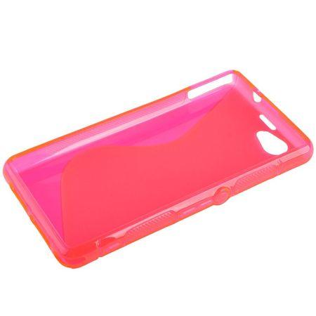 Handyhülle TPU Case für Sony Xperia Z1S / Z1 mini pink – Bild 2