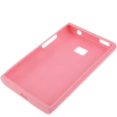 Schutzhülle TPU Punkte Case für Handy LG Optimus L3 / E400 – Bild 3