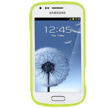 Schutzhülle TPU Punkte Case für Handy Samsung Galaxy S Duos S7562 – Bild 4