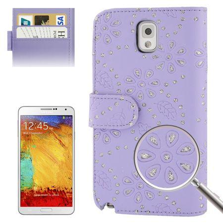 Handyhülle Handyhülle Quer für Handy Samsung Galaxy Note3 N9000 lila