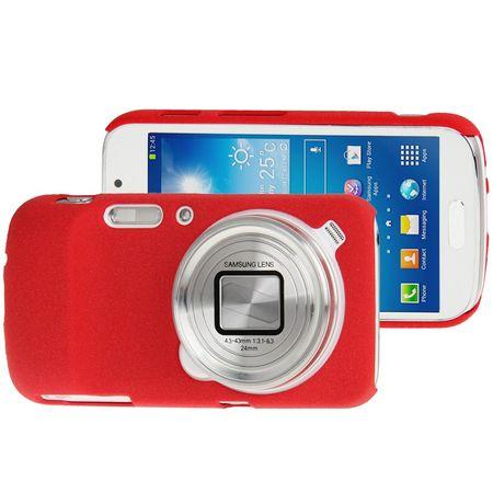 Handyhülle Hardcase für Handy Samsung Galaxy S4 i9500 / i9505 / i9506 / GT-i9515 Zoom C1010 rot