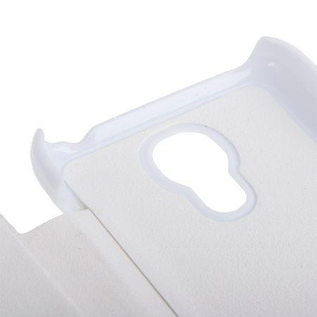 Handyhülle Tasche für Samsung Galaxy S4 mini i9190 weiß gebürstet – Bild 7