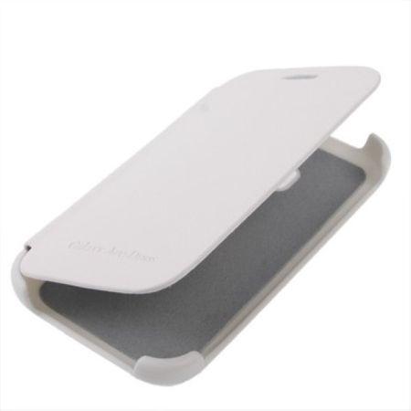Handyhülle Flip Case für Samsung Galaxy Ace Duos S6802 weiß