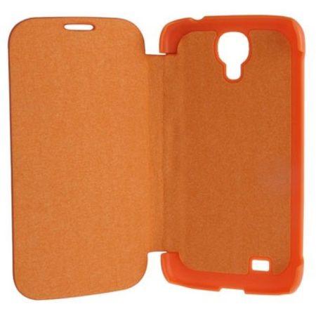 Handyhülle Schutzhülle (Flip Quer) für Handy Samsung Galaxy S4 GT-I9500 / GT-I9505 / LTE+ GT-I9506 / Value Edition GT-I9515 orange – Bild 5