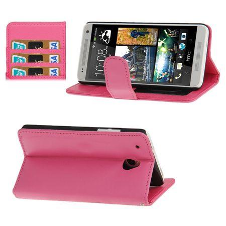 Handyhülle für Handy HTC One mini M4 pink
