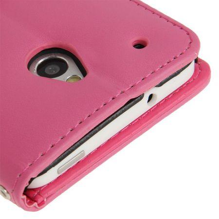 Handyhülle für Handy HTC One mini M4 pink – Bild 5