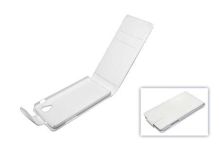 Handyhülle Tasche (Flip) für Handy Google Nexus 5 weiß