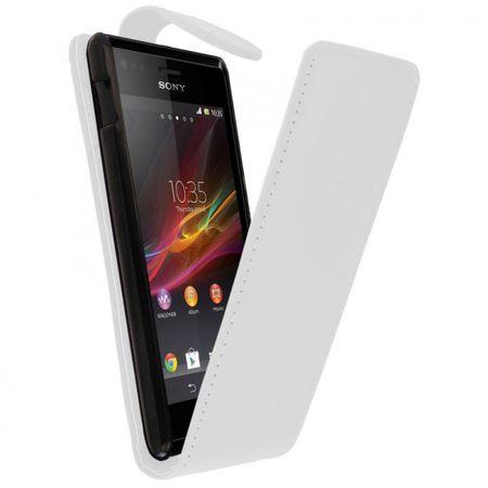 Case Fit für Handy Sony Xperia M weiß