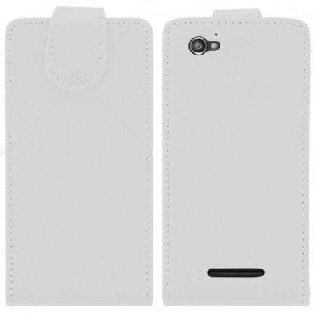 Case Fit für Handy Sony Xperia M weiß – Bild 2
